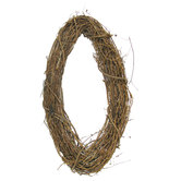 Grapevine Oval Wreath